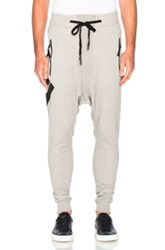 11 By Boris Bidjan Saberi Printed Sweatpants In Gray