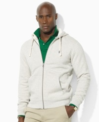 Polo Ralph Lauren Big And Tall Classic Fleece Full Zip Hoodie Light Sport Heather