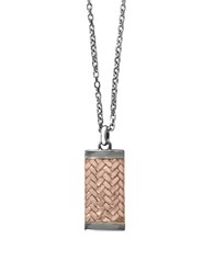 Effy Gento Sterling Silver Pendant Necklace