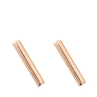 Ginette_Ny Gold Strip Earrings
