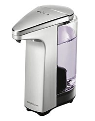 Simplehuman Compact Sensor Soap Pump In Brushed Nickel Silver