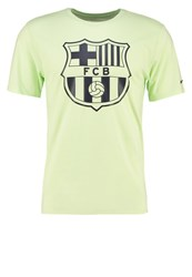 Nike Performance Fc Barcelona Sports Shirt Light Liquid Lime Light Green