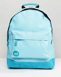 Mi Pac Classic All Aqua Backpack Blue