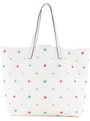 Red Valentino Stars Shoulder Bag White