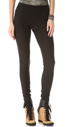 Plush Fleece Lined Leggings Black