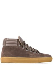 Zespa Hi Top Sneakers Grey