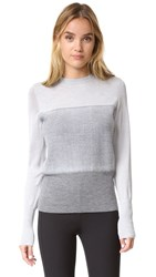 Rag And Bone Marissa Crew Sweater Light Grey