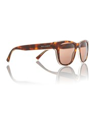 Dolce And Gabbana Dolceandgabbana Brown Square Dg4284 Sunglasses