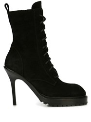 Ann Demeulemeester Scamosciato Boots Black