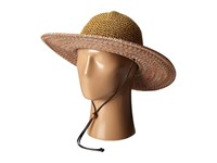 San Diego Hat Company Ubl6483 4 Inch Brim Sun Hat With Adjustable Chin Cord Rust Caps Red
