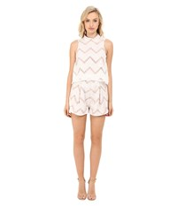 Style Stalker Miranda Romper Blanc Women's Jumpsuit And Rompers One Piece White