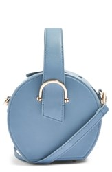 Topshop Carolina Case Crossbody Bag Blue Blue Multi