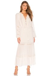 Cleobella Abella Maxi Dress Ivory