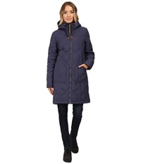 Burton Bixby Long Down Jacket Mood Indigo Women's Coat Navy