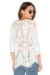 Generation Love Nyla Embroidered Top White
