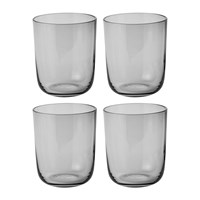 Muuto Corky Tall Drinking Glasses Set Of 4 Grey