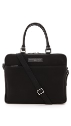 Want Les Essentiels Haneda Slim Briefcase Black Black