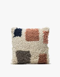 Minna Formas Shag Pillow 16X16 Multi