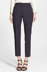 Women's Akris Punto 'Franca' Techno Cotton Pants Deep Navy