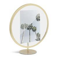 Umbra Infinity Elevated Photo Frame Brass 5X7 Gold