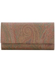 Etro Paisley Wallet Multicolour