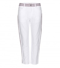 Isabel Marant Etoile Andreas Cropped Jeans White