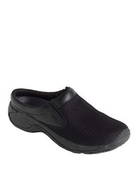 Merrell Encore Bypass Leather Clogs Black