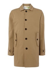 Gloverall Men's Cotton Car Coat Olive