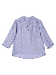 Dash Shooting Star Lilac Blouse Green