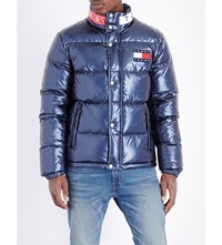 Tommy Jeans 90S Quilted Shell Jacket Peacoat