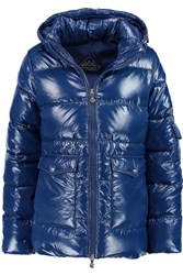 Pyrenex Authentic Quilted Glossed Shell Down Jacket Blue