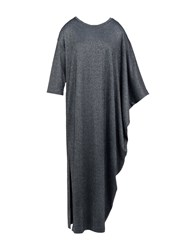 5Preview Long Dresses Steel Grey