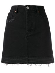 Zadig And Voltaire Juicy Embroidered Denim Skirt 60