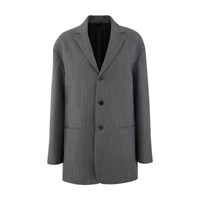 Oamc Lithium Wool Blazer Heather Grey Bis