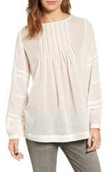 Velvet By Graham And Spencer Women's Pintuck Blouse