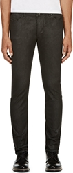 Diesel Black Gold Black Coated Skinny Type 241 Jeans