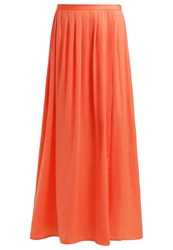 Mintandberry Maxi Skirt Emberglow Coral