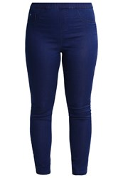 Evans Jeggings Purple Dark Blue