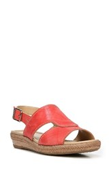 Naturalizer Women's Reese Sandal Punch Plaid Leather