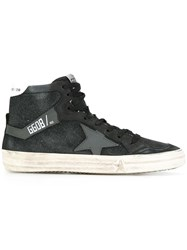 Golden Goose Deluxe Brand 2.12 High Top Sneakers Black