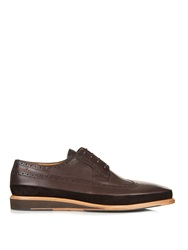 Paul Smith Gordan Wedge Leather Derby Shoes