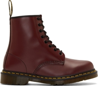 Dr. Martens Burgundy Leather 1460 W 8 Eye Boots