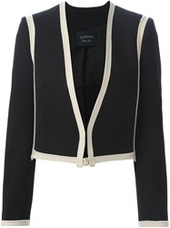 Lanvin Cropped Blazer Black
