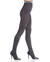 Dkny Rib Knit Tights Black