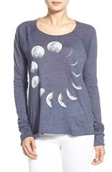 Wildfox Couture Women's Wildfox 'Moon Phases' Long Sleeve Graphic Tee