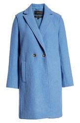 J.Crew Plus Size Daphne Boiled Wool Topcoat Tropical Parrot