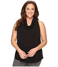 Lucy Extended Uncharted Tank Top Black Women's Sleeveless