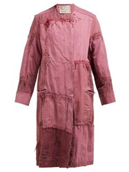 By Walid Azza 19Th Century Linen Coat Pink