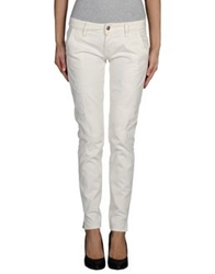 People Denim Pants Ivory