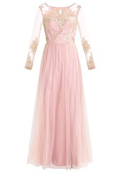 Chi Chi London Moxie Occasion Wear Pink Gold Rose Gold
